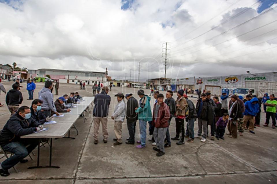 Aumentan migrantes centroamericanos devueltos de EUApor Cd. Juárez