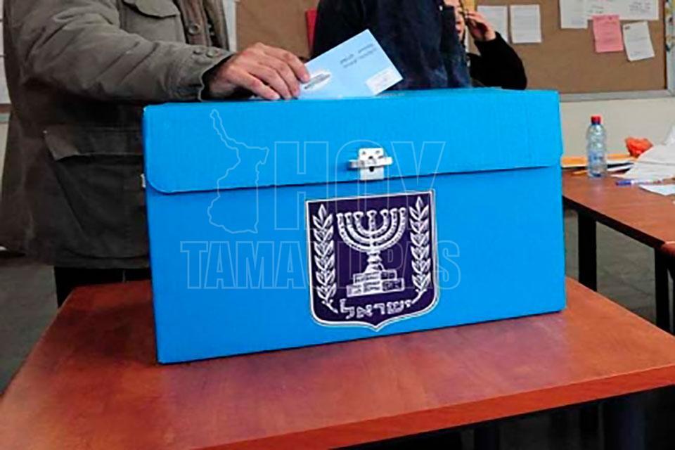 Voto-finish en elecciones en Israel