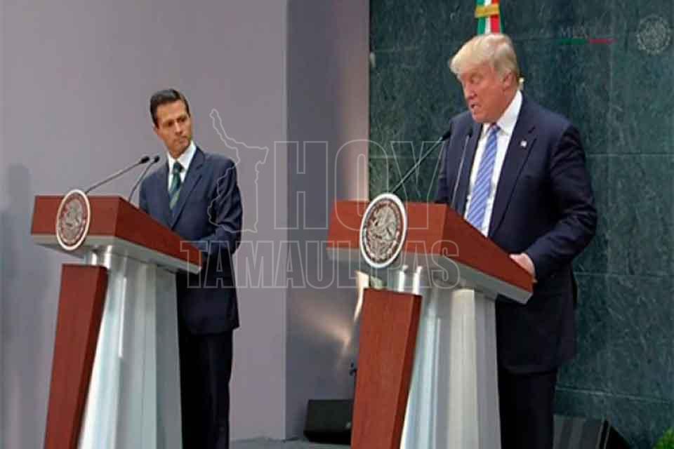 Un tuit de Peña Nieto hizo enojar a Trump