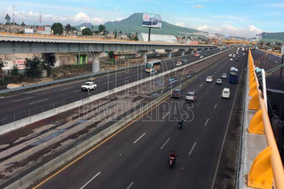Accidente en la México-Puebla deja al menos 20 heridos