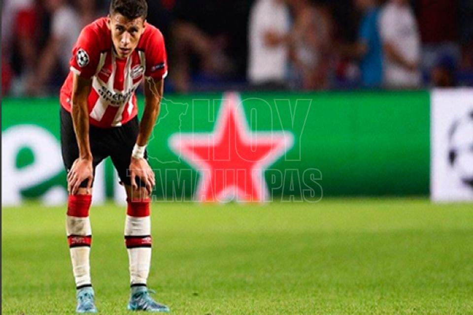PSV con Moreno y Guardado van por tres valiosos puntos en Holanda