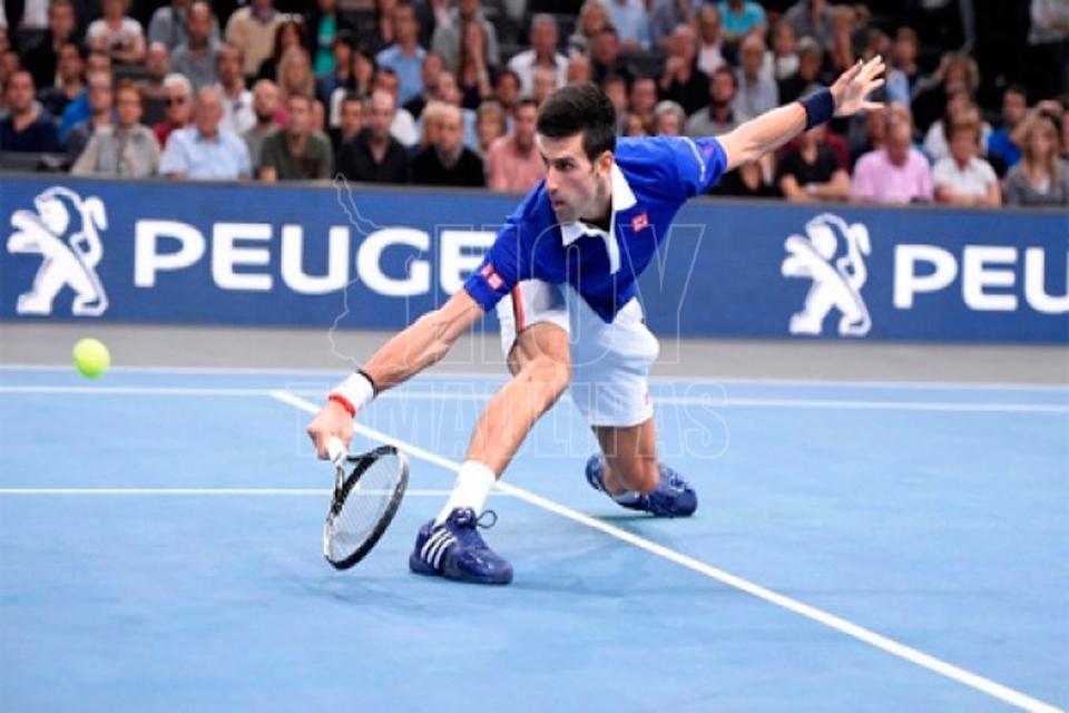 Diego Schwartzman estuvo cerca de dar el batacazo ante Novak Djokovic
