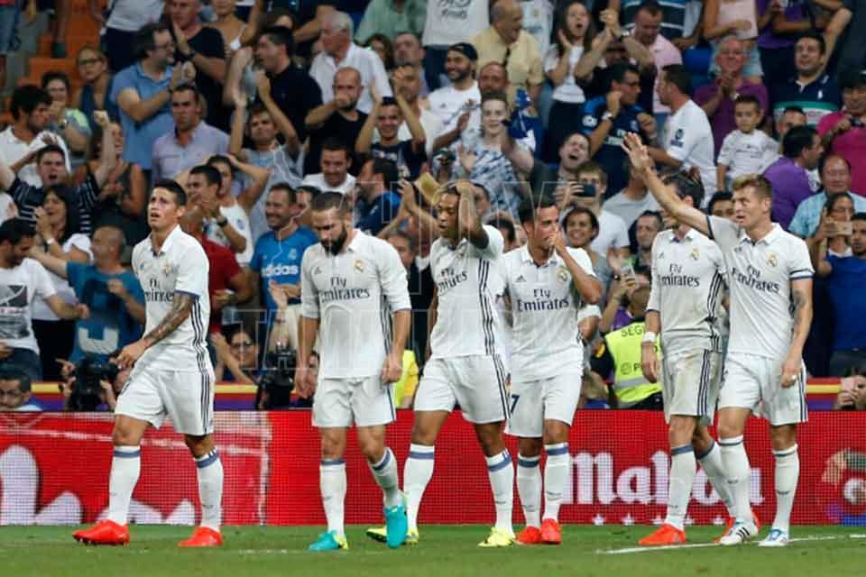 Cristiano y Pepe se pusieron a las órdenes de Zidane