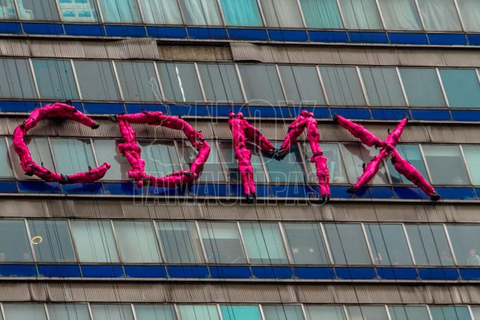 Organizan flashmob en honor de la CDMX