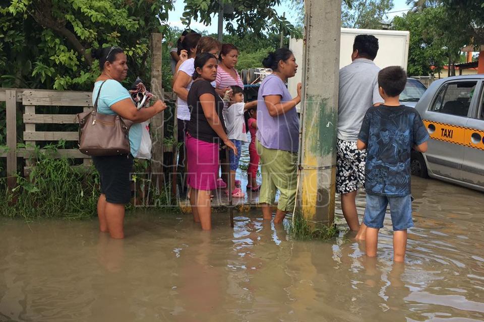 Declaran estado de emergencia por lluvias en Tamaulipas