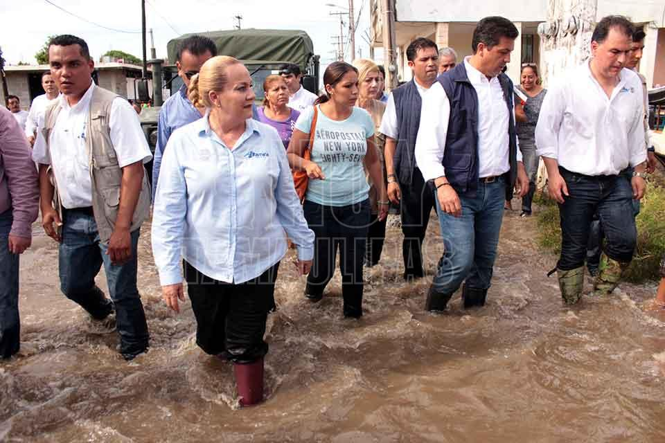 Activan Plan DN-III ante intensas lluvias en Tamaulipas