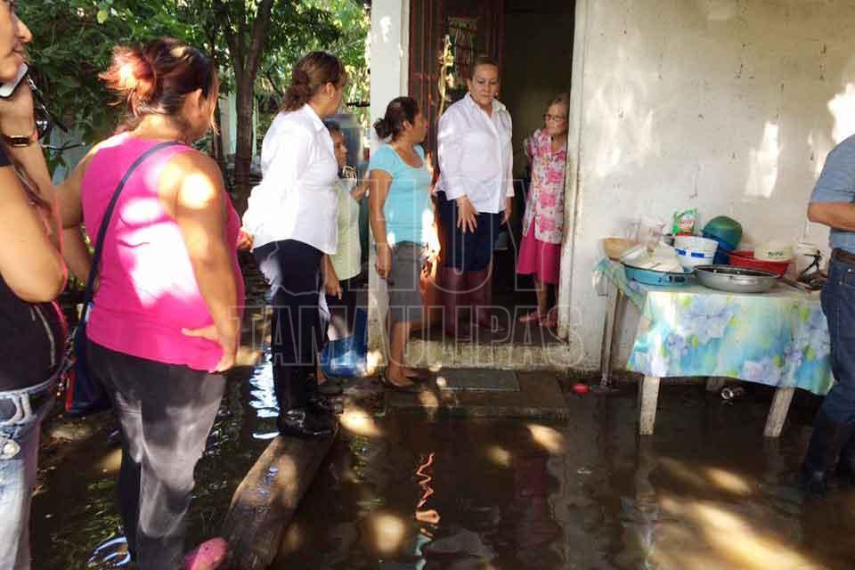 Lluvias en Tamaulipas deja a más de 17 mil familias afectadas