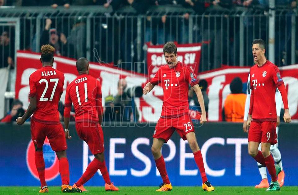 El Real Madrid se impuso al Bayern Munich con un Ronaldo implacable