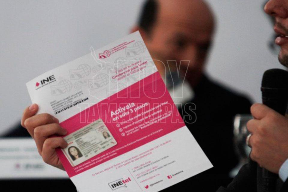 INE recibe 300 mil solicitudes de credenciales desde el extranjero