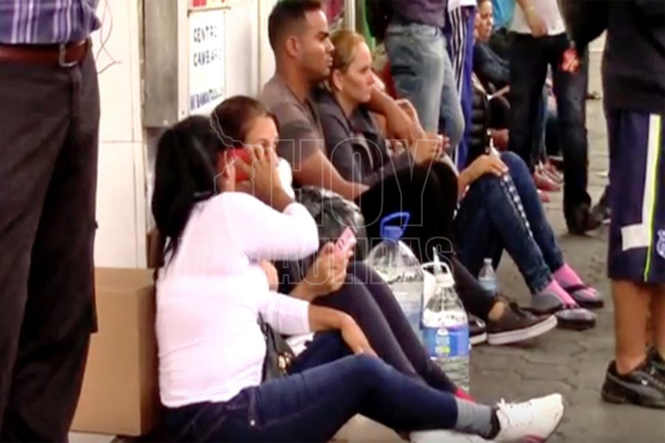 México otorga permiso para trabajar a cubanos varados