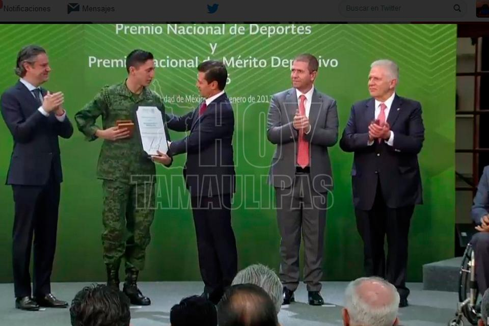 Presidente Enrique Peña Nieto entrega Premio Nacional del Deporte 2016