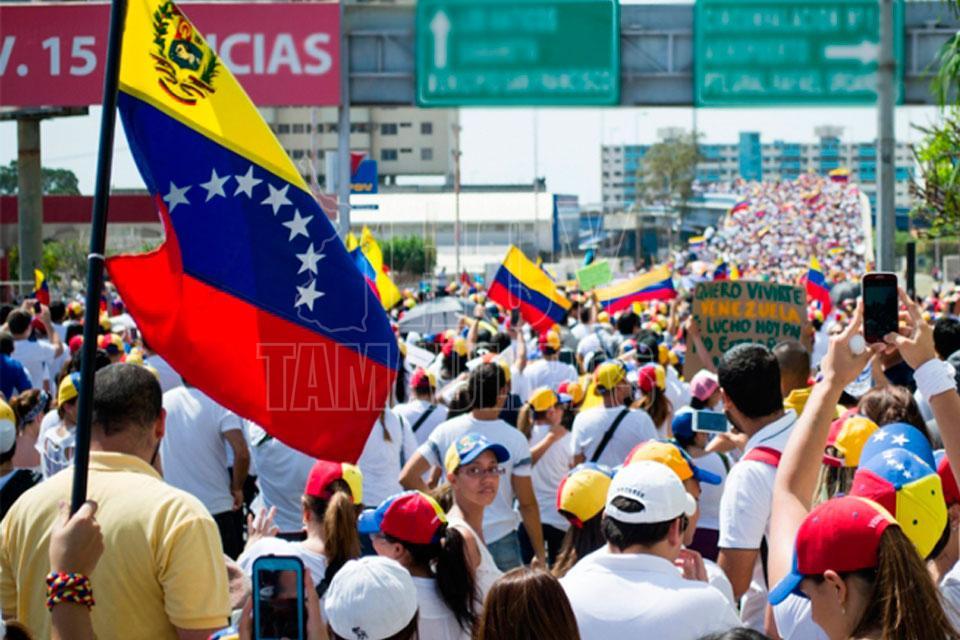 Miles de mujeres protestan contra la represión en Venezuela