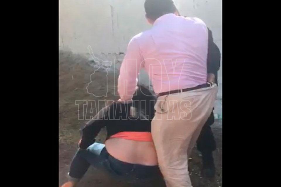 #LordPapá hace su aparición y golpea a una joven de 15 años