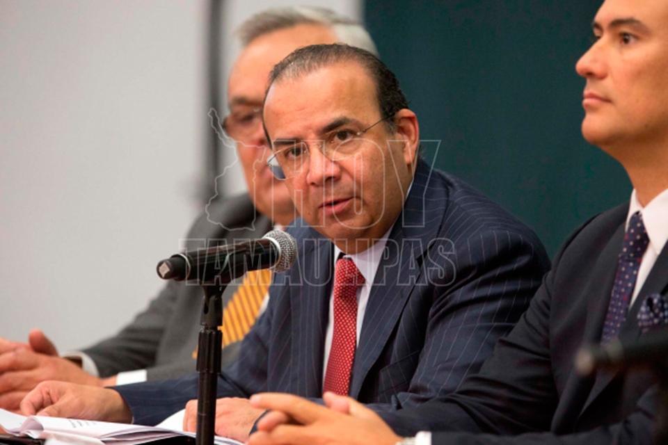 Se reúne Navarrete con diputado de Veracruz por agenda local y seguridad