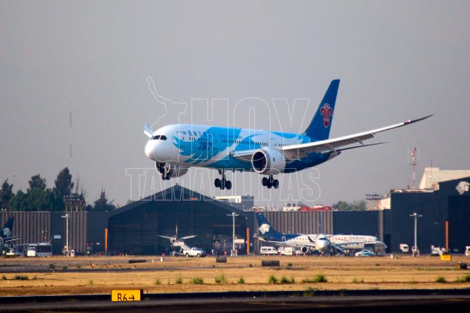 Destacan importancia de nuevo vuelo China-Ciudad de México