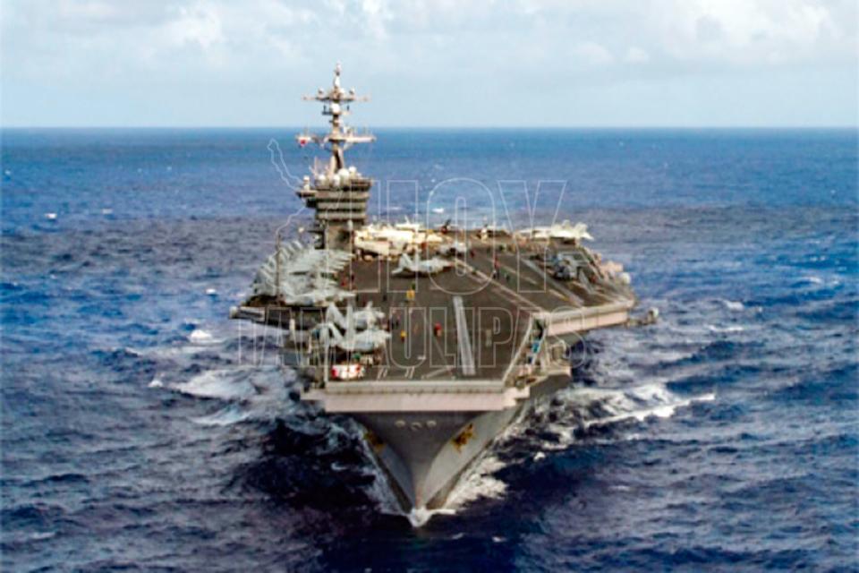 EEUU: Portaaviones nuclear llegará la próxima semana a península coreana