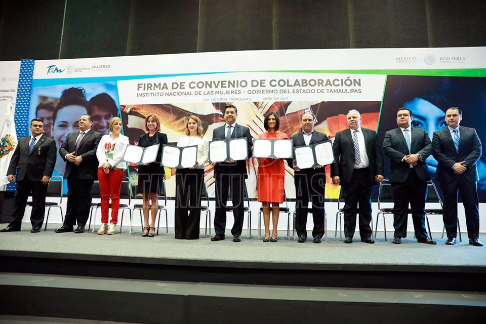 Tamaulipas fortalece acciones para erradicar violencia contra las mujeres