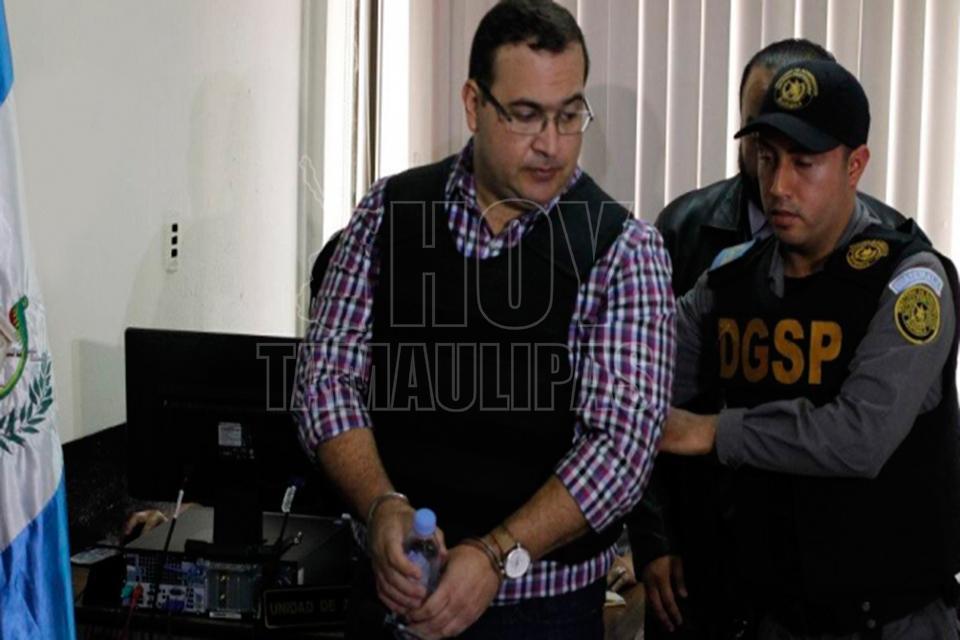 Solicita Duarte a penal colchón y salir a platicar