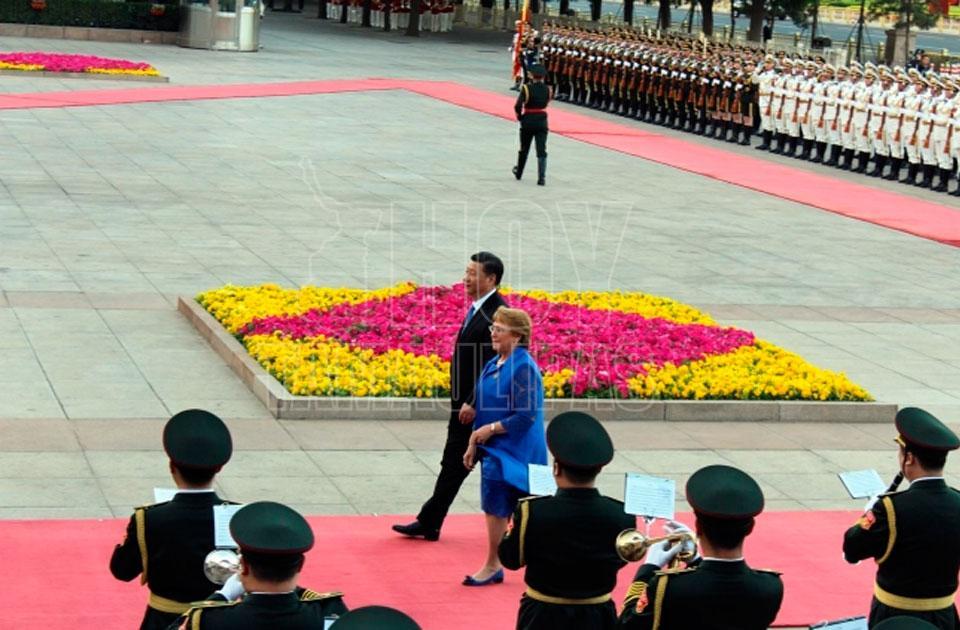Macri llega a Chinapara una cumbre