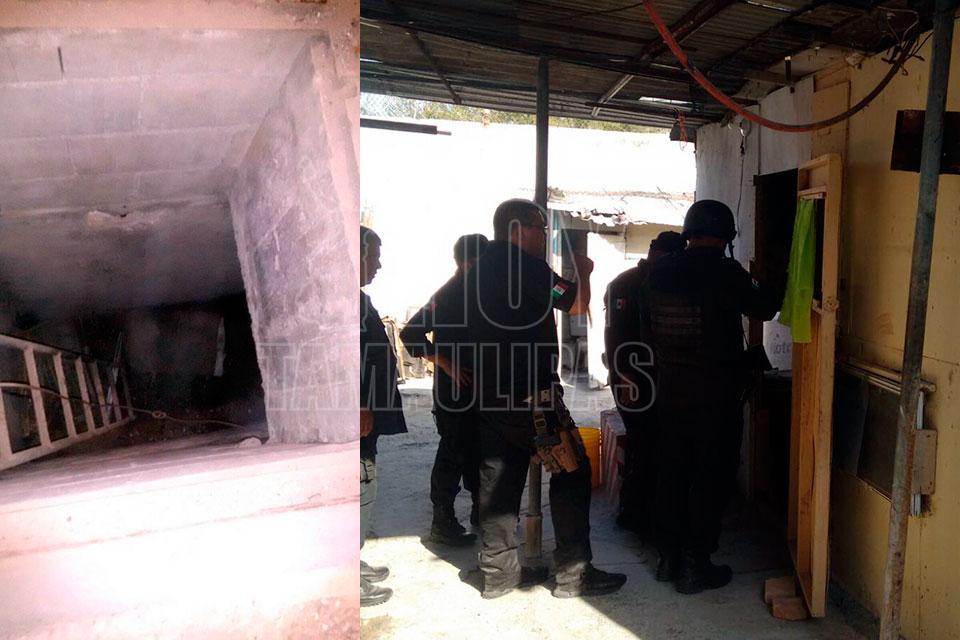 Hallan túnel en penal de Reynosa