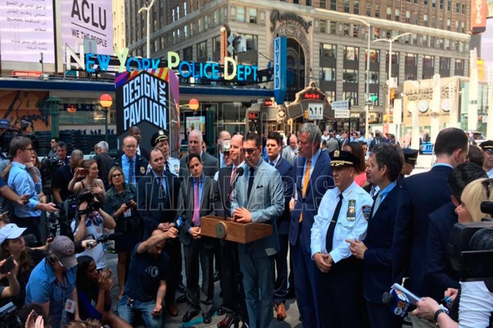 Ex marine con antecedentes penales causó fatal accidente en Times Square — EEUU