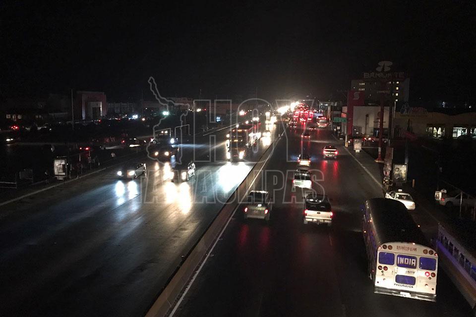Tromba dejó sin luz a 506 familias en Tamaulipas