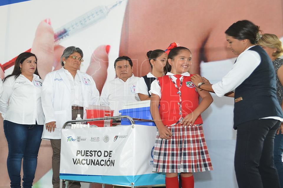 Segunda; Semana Nacional de Salud, DIF participa en evento