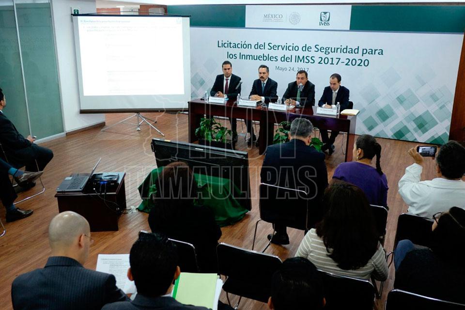 IMSS contratará seguridad; 11 proveedores compiten por licitación