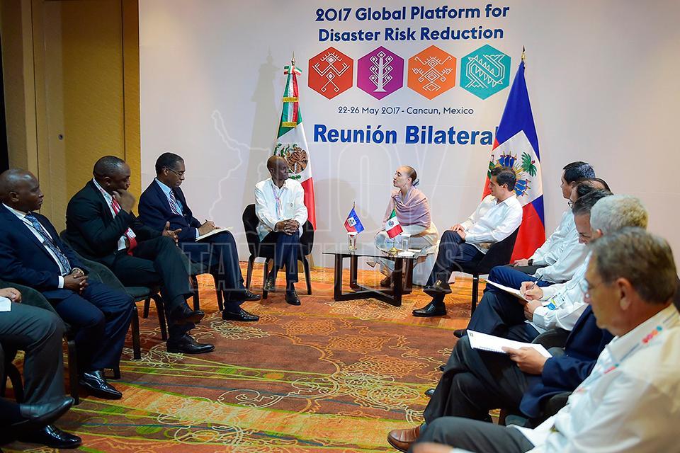 Pide Peña Nieto apoyar naciones para fortalecer Protección Civil