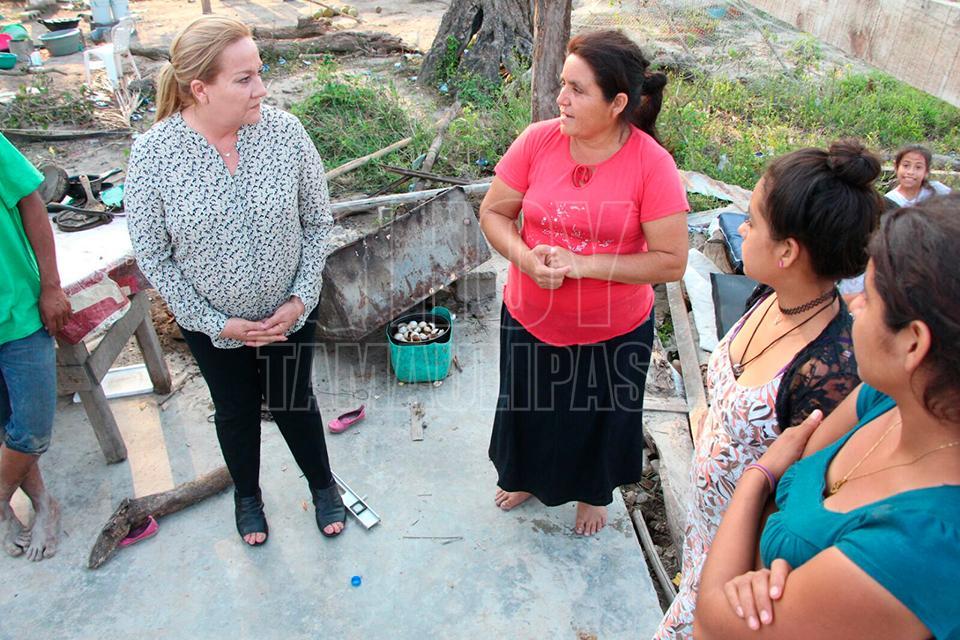 Torbellinos y granizo afectan a 110 familias en Altamira