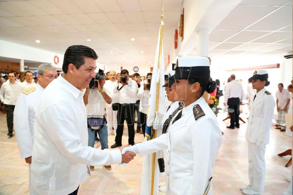 Realizan ceremonia conmemorativa del Día de la Marina