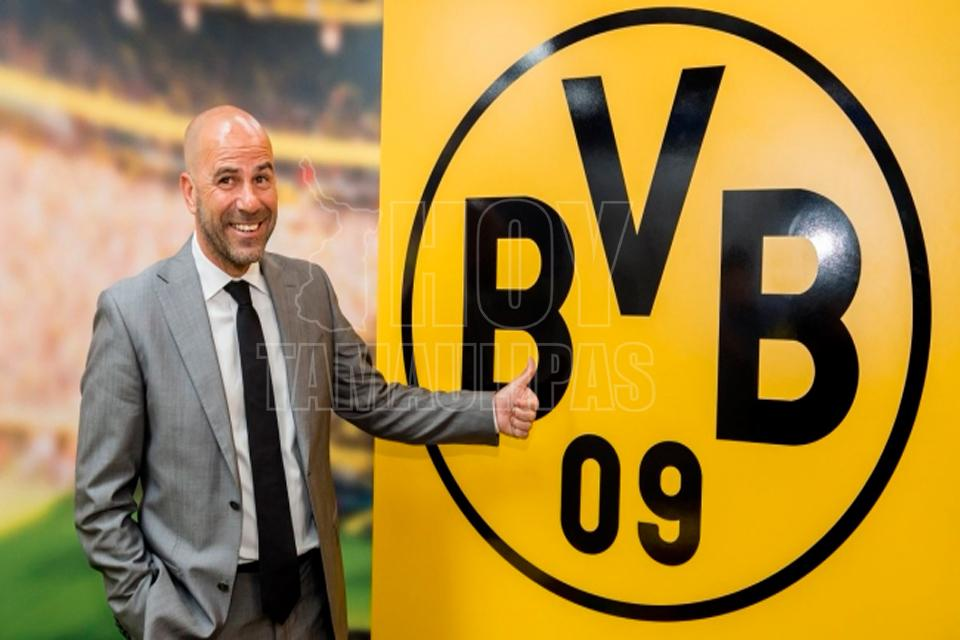 Holandés Peter Bosz es presentado como nuevo entrenador del Borussia Dortmund