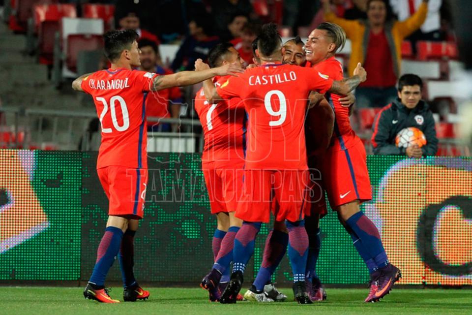 Hernández sería la novedad de Chile ante Portugal
