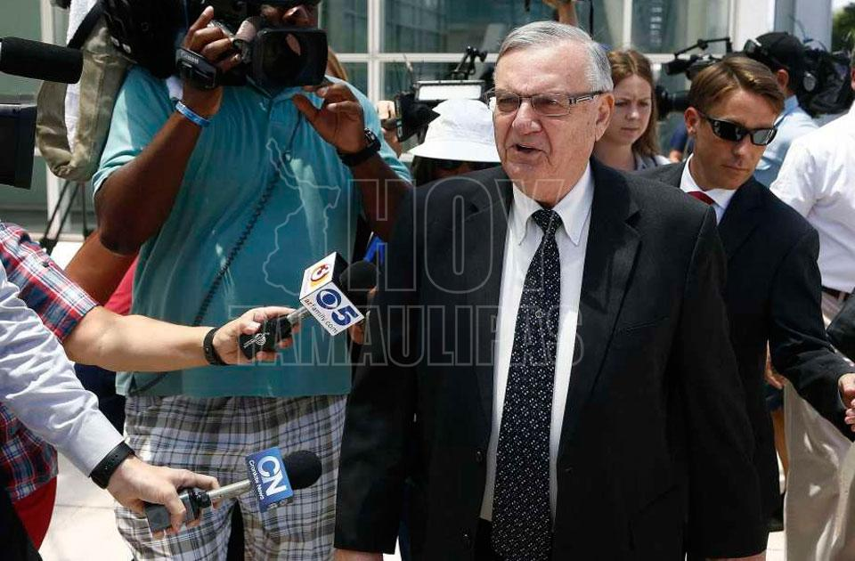 Declaran culpable de desacato a Joe Arpaio, exsheriff de Arizona