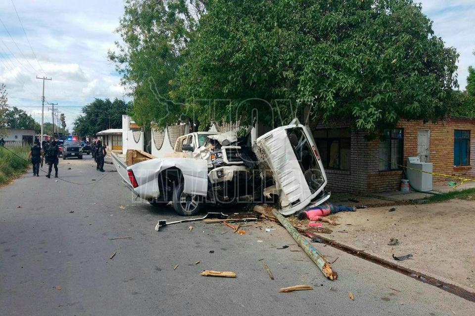 Mueren 5 tras ataque en Camargo