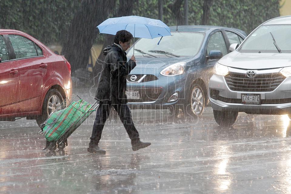 Prevén tarde lluviosa en gran parte del país