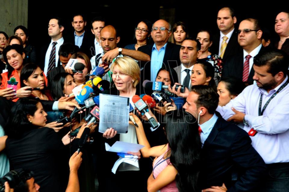 Luisa Ortega desafía a Maduro: Voy a mantenerme firme en mi cargo
