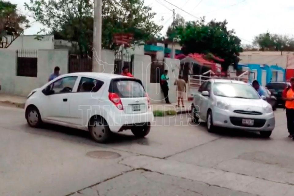 Carambola deja un civil y cuatro policías heridos en Tamaulipas
