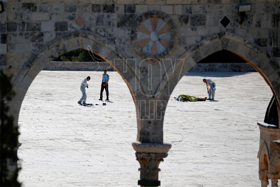 Seis muertos en dos enfrentamientos armadoa en Jerusalén y alrededores