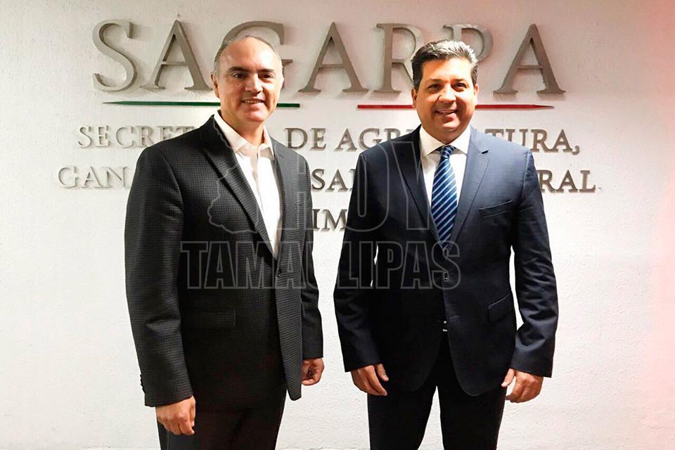Entregará Gobernador y titular de Sagarpa apoyos al campo