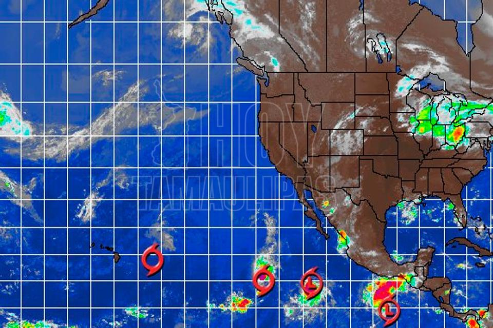Se forma depresión tropical frente a costas de Oaxaca