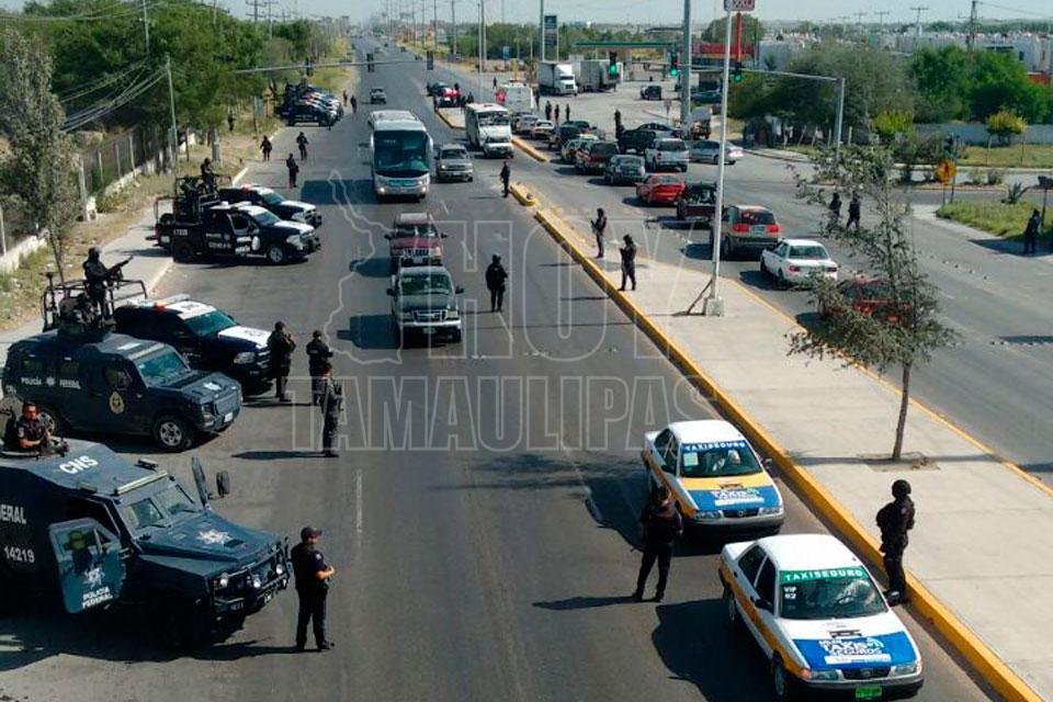 Dura sólo un día sobrevigilancia en Reynosa