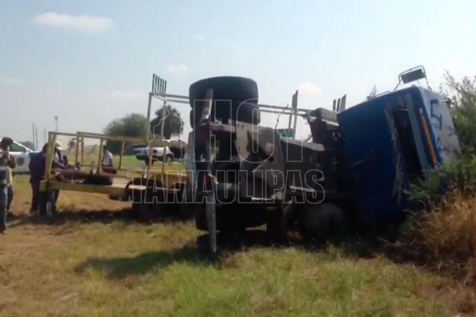 Tragedia en carretera de Tamaulipas: 9 muertos y 10 prensados