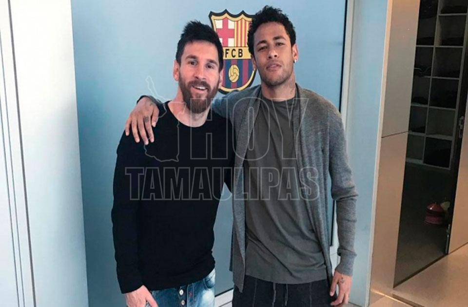 El video que le dedicó Messi a Neymar por su partida