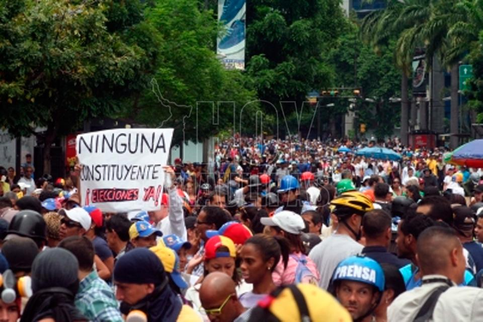 Periodistas no pudieron entrar a instalación de la Constituyente