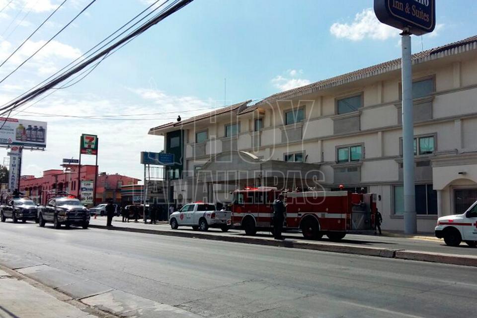 Investigan explosión en un hotel de Reynosa, Tamaulipas