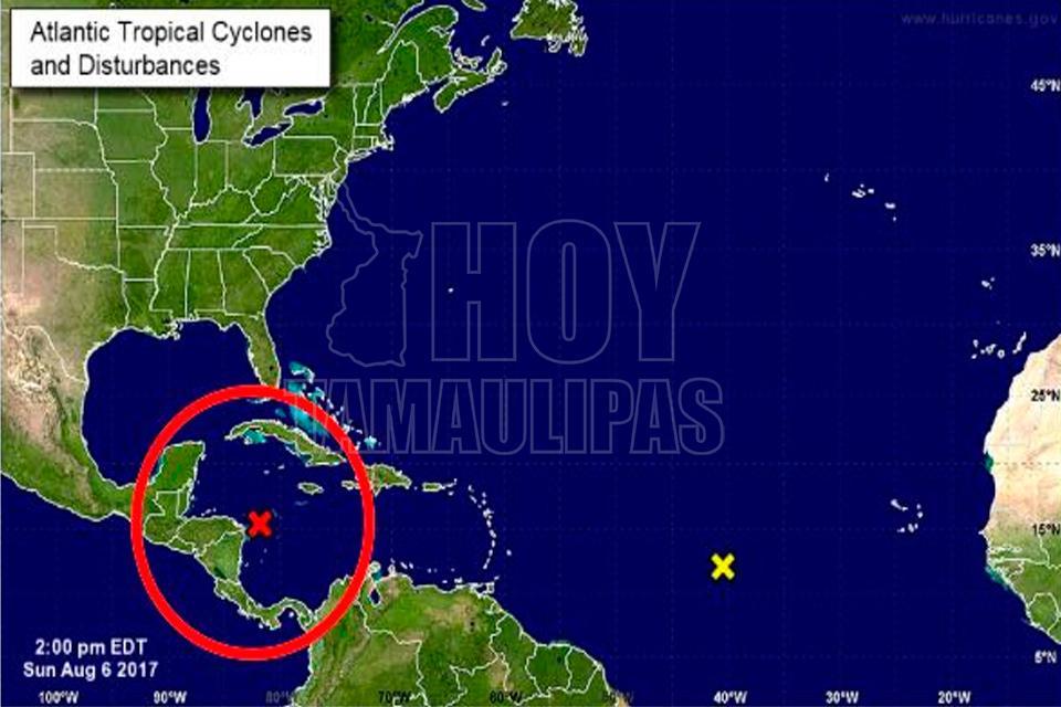 Identifican posible tormenta tropical. Centro Meteorológico de ...