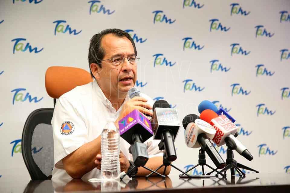 Tormenta Franklin tocará tierra esta noche como huracán en costa mexicana