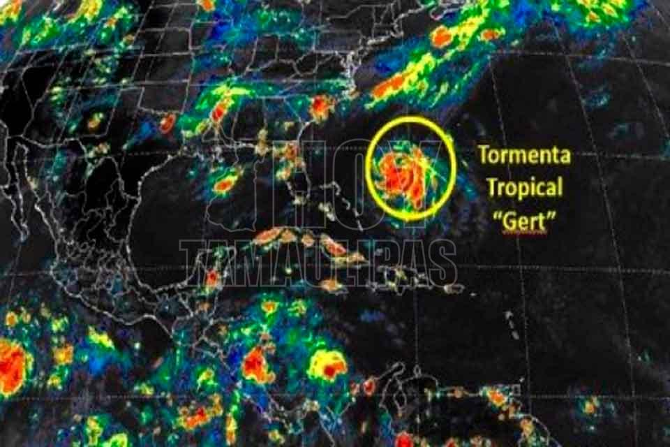 La tormenta tropical Gert se mueve hacia aguas del Atlántico — VENEZUELA