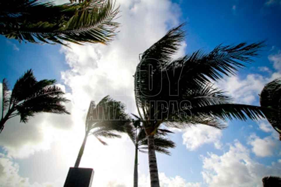 Viene frío, lluvias y fuerte viento para Tamaulipas